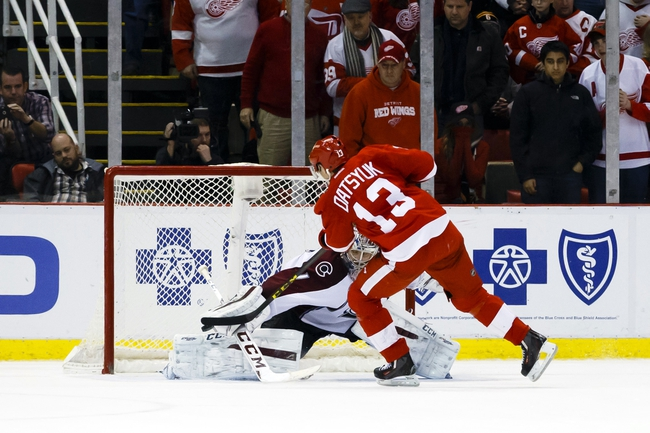 Avalanche vs. Red Wings - 2/27/16 NHL Pick, Odds, and Prediction