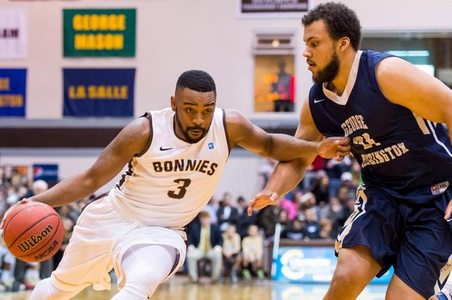 St. Bonaventure vs. Saint Joseph's - 3/2/16 College Basketball Pick, Odds, and Prediction