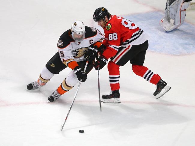 Anaheim Ducks vs. Chicago Blackhawks - 11/25/16 NHL Pick, Odds, and Prediction