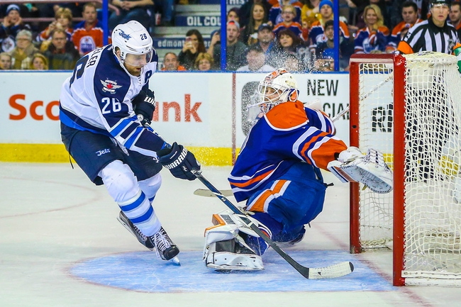 Jets vs. Oilers - 3/6/16 NHL Pick, Odds, and Prediction