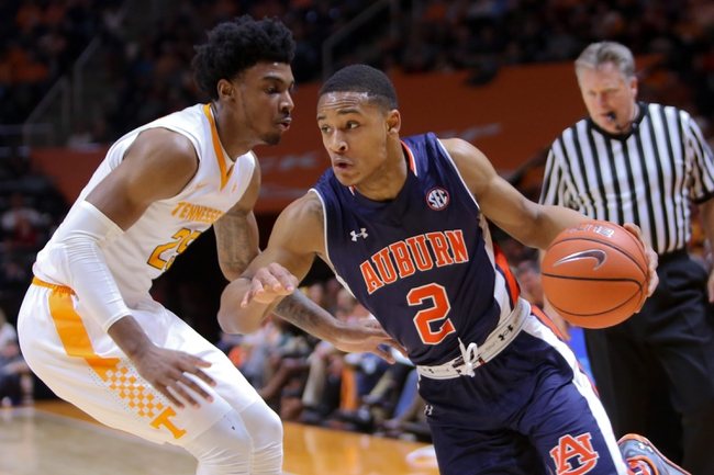 Tennessee vs. Auburn - 3/9/16 College Basketball Pick, Odds, and Prediction