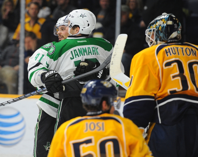 Nashville Predators vs. Dallas Stars - 3/1/16 NHL Pick, Odds, and Prediction