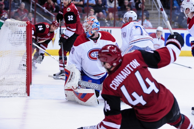 Montreal Canadiens vs. Arizona Coyotes - 10/20/16 NHL Pick, Odds, and Prediction