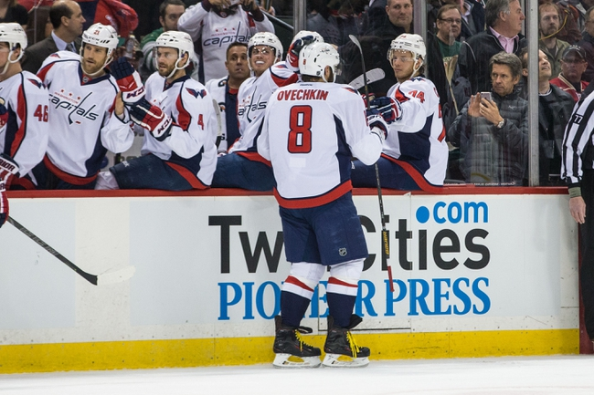 Washington Capitals vs. Minnesota Wild - 2/26/16 NHL Pick, Odds, and Prediction