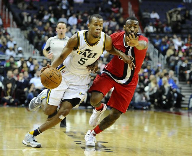 Jazz vs. Wizards - 3/11/16 NBA Pick, Odds, and Prediction
