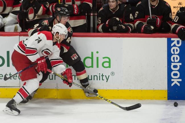 Hurricanes vs. Senators - 3/8/16 NHL Pick, Odds, and Prediction