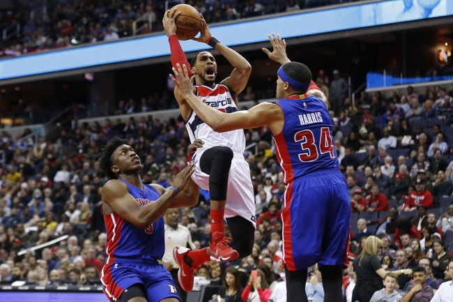 Washington Wizards vs. Detroit Pistons - 3/14/16 NBA Pick, Odds, and Prediction
