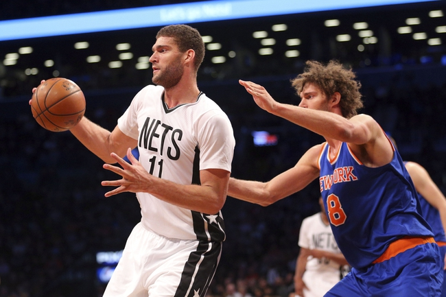 New York Knicks vs. Brooklyn Nets - 4/1/16 NBA Pick, Odds, and Prediction