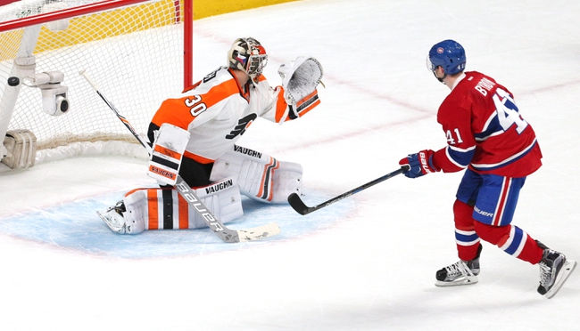 Montreal Canadiens vs. Philadelphia Flyers - 10/24/16 NHL Pick, Odds, and Prediction