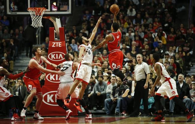Raptors vs. Bulls - 3/14/16 NBA Pick, Odds, and Prediction