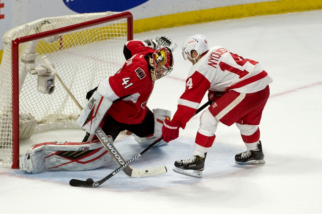 Detroit Red Wings vs. Ottawa Senators - 10/17/16 NHL Pick, Odds, and Prediction
