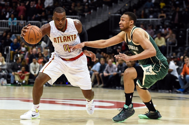 Atlanta Hawks vs. Milwaukee Bucks - 3/25/16 NBA Pick, Odds, and Prediction
