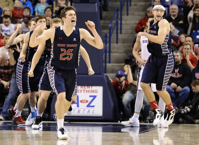 San Francisco Dons vs. St. Mary's Gaels - 2/27/16 College Basketball Pick, Odds, and Prediction