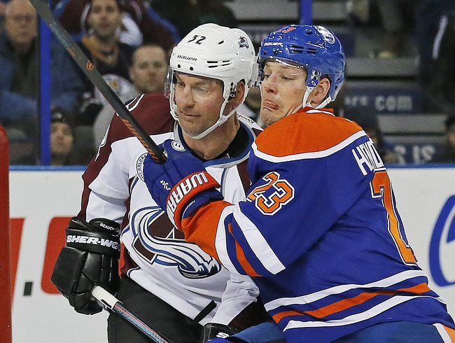 Oilers vs. Avalanche - 3/20/16 NHL Pick, Odds, and Prediction