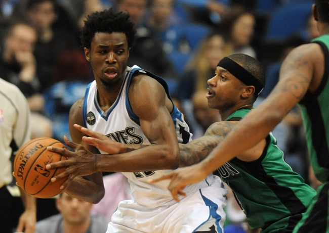 Minnesota Timberwolves vs. Boston Celtics - 11/21/16 NBA Pick, Odds, and Prediction