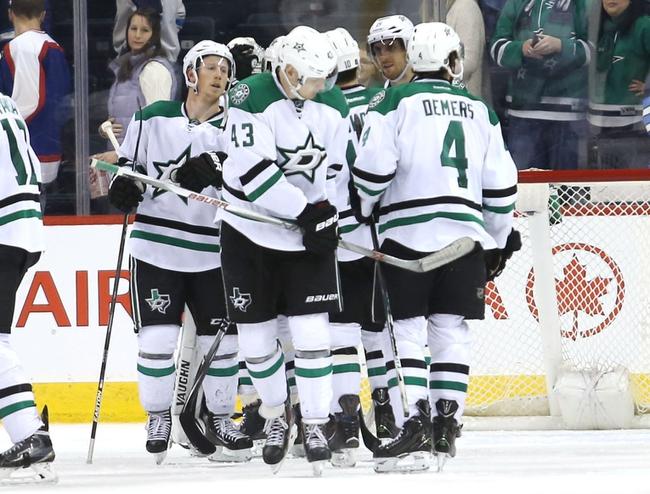 Dallas Stars vs. Winnipeg Jets - 2/25/16 NHL Pick, Odds, and Prediction