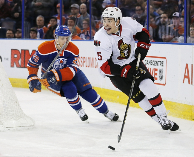 Edmonton Oilers vs. Ottawa Senators - 10/30/16 NHL Pick, Odds, and Prediction