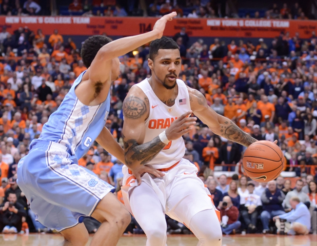 North Carolina vs. Syracuse - 2/29/16 College Basketball Pick, Odds, and Prediction