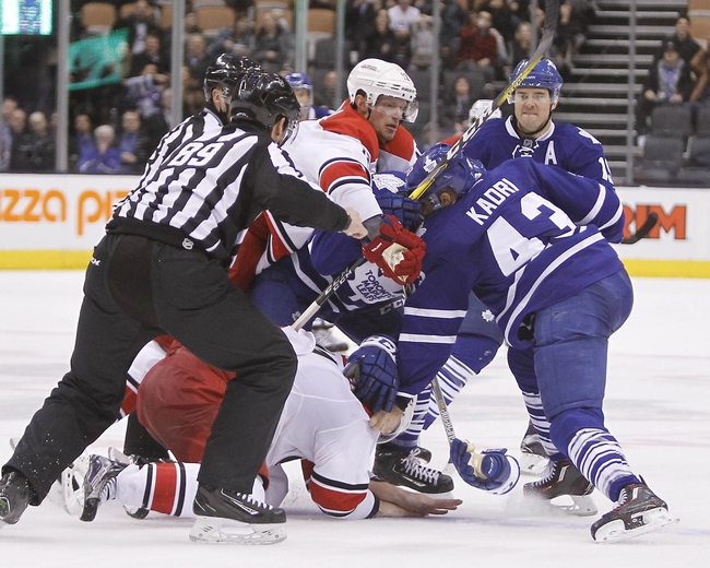Toronto Maple Leafs vs. Carolina Hurricanes - 11/22/16 NHL Pick, Odds, and Prediction