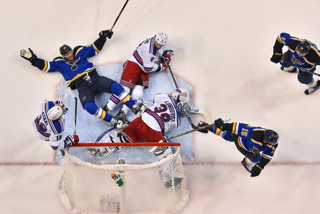 St. Louis Blues vs. New York Rangers - 10/15/16 NHL Pick, Odds, and Prediction