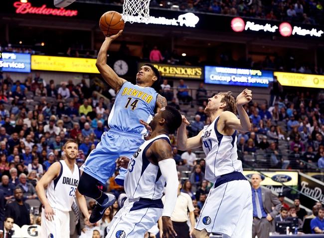 Dallas Mavericks at Denver Nuggets  - 3/6/16 NBA Pick, Odds, and Prediction