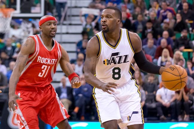 Rockets vs. Jazz - 3/23/16 NBA Pick, Odds, and Prediction
