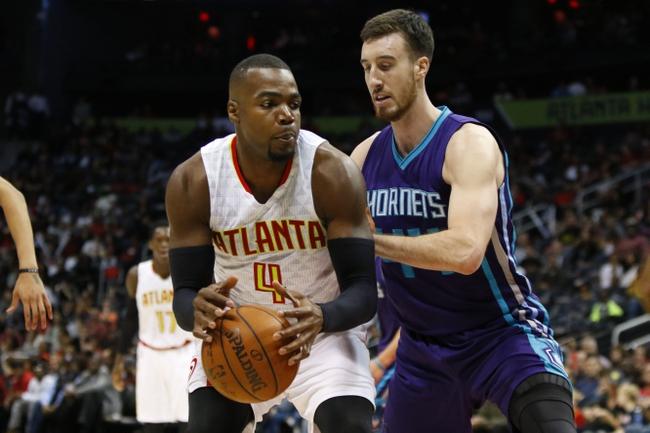 Charlotte Hornets vs. Atlanta Hawks - 11/18/16 NBA Pick, Odds, and Prediction