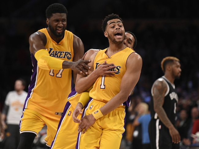 Los Angeles Lakers vs. Brooklyn Nets - 11/15/16 NBA Pick, Odds, and Prediction