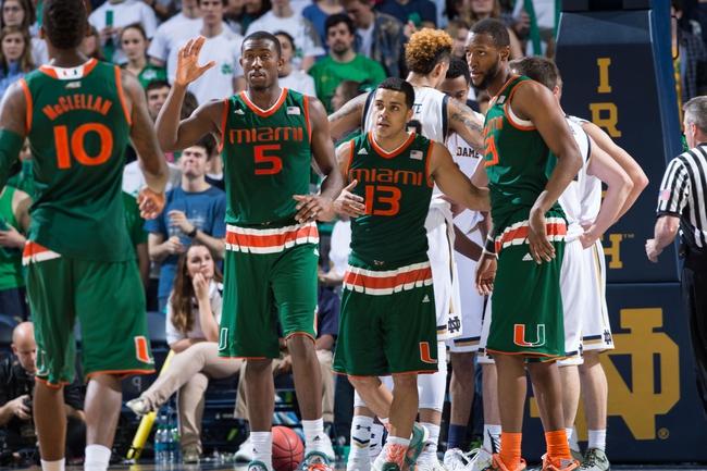 Virginia Tech vs. Miami - 3/10/16 ACC Tournament Pick, Odds, and Prediction