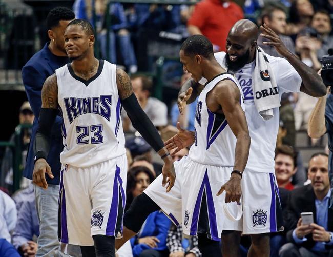 Sacramento Kings vs. Dallas Mavericks - 3/27/16 NBA Pick, Odds, and Prediction