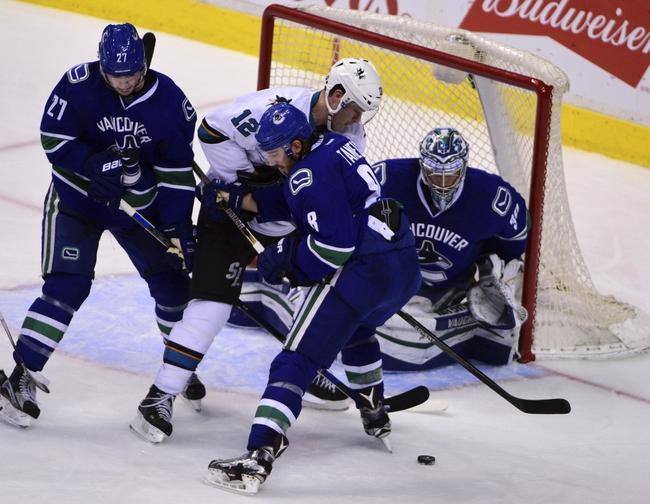 Sharks vs. Canucks - 3/5/16 NHL Pick, Odds, and Prediction