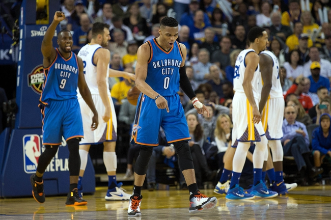 Thunder at Warriors Game 1 - 5/16/16 NBA Pick, Odds, and Prediction
