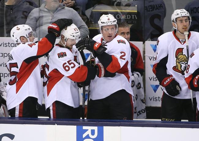 Ottawa Senators vs. Toronto Maple Leafs - 3/12/16 NHL Pick, Odds, and Prediction