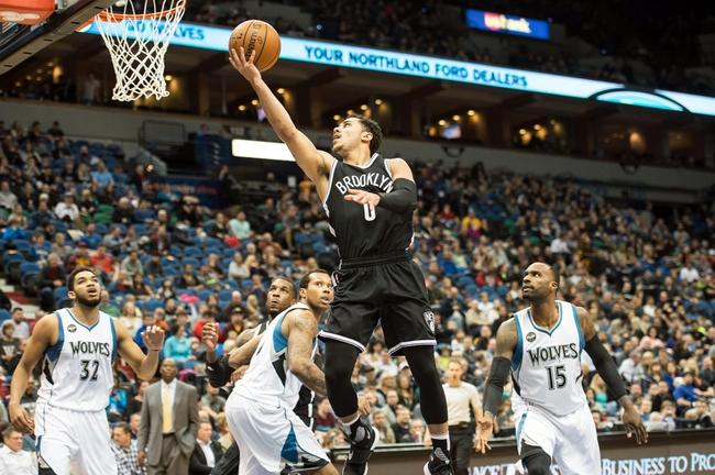Brooklyn Nets vs. Minnesota Timberwolves - 11/8/16 NBA Pick, Odds, and Prediction