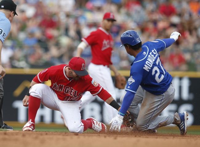 Los Angeles Angels vs. Kansas City Royals - 4/25/16 MLB Pick, Odds, and Prediction