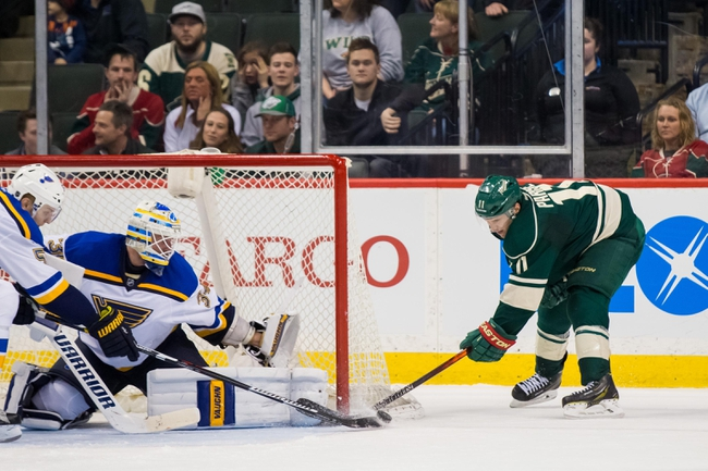 Yakupov provides offensive spark as Blues beat Wild 3-2