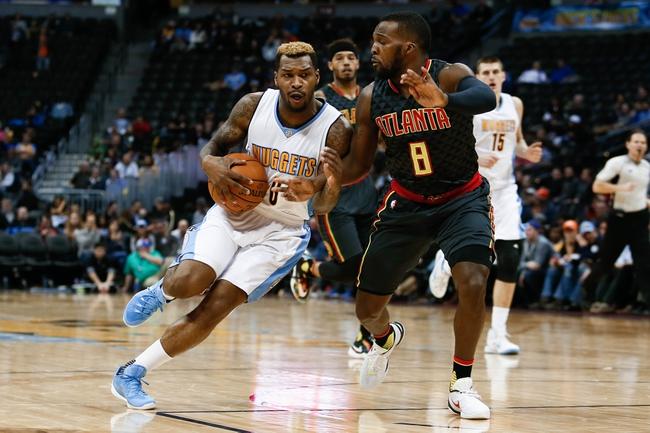 Hawks vs. Nuggets - 3/17/16 NBA Pick, Odds, and Prediction