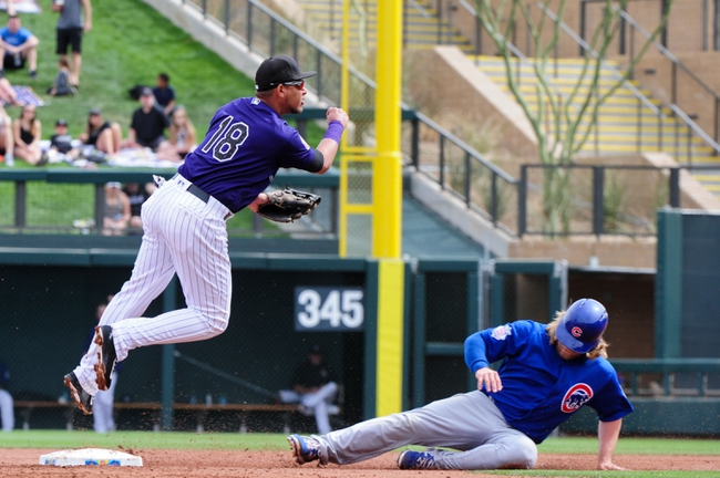 Chicago Cubs vs. Colorado Rockies - 4/15/16 MLB Pick, Odds, and Prediction