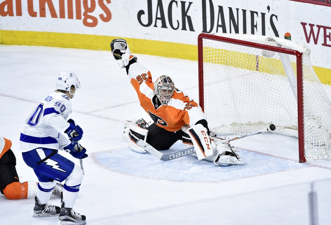 Tampa Bay Lightning vs. Philadelphia Flyers - 3/11/16 NHL Pick, Odds, and Prediction