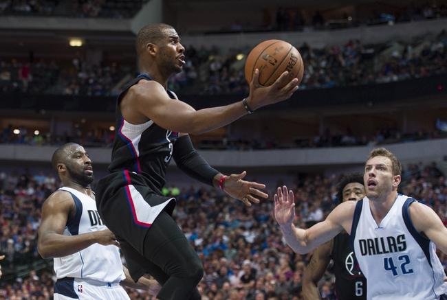 Clippers vs. Mavericks - 4/10/16 NBA Pick, Odds, and Prediction