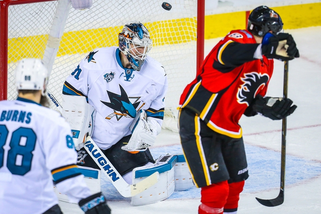 'San Jose Sharks vs. Calgary Flames - 11/3/16 NHL Pick, Odds, and Prediction'
