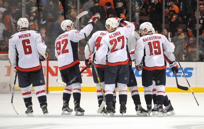 Washington Capitals vs. Anaheim Ducks - 4/10/16 NHL Pick, Odds, and Prediction