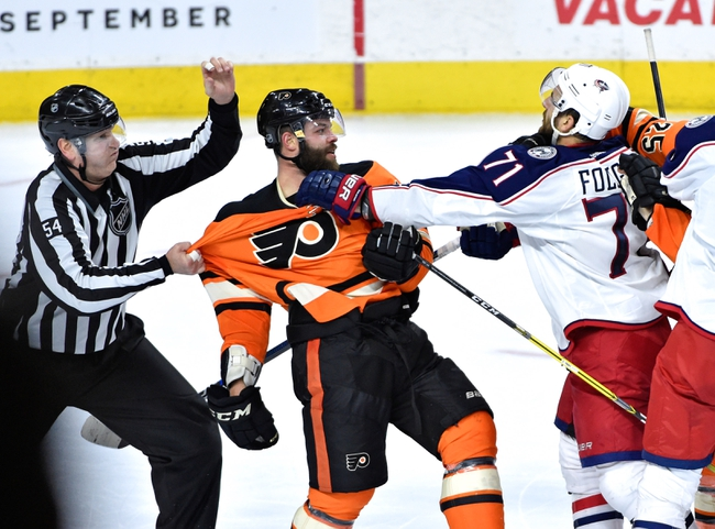 Columbus Blue Jackets vs. Philadelphia Flyers - 3/22/16 NHL Pick, Odds, and Prediction
