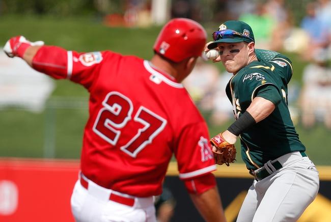 Oakland Athletics vs. Los Angeles Angels - 4/11/16 MLB Pick, Odds, and Prediction