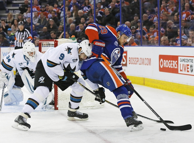 Sharks vs. Oilers - 3/24/16 NHL Pick, Odds, and Prediction