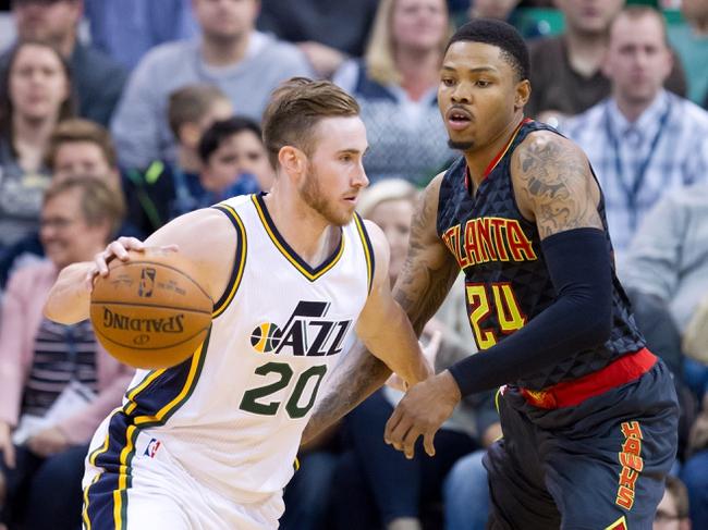 Utah Jazz vs. Atlanta Hawks - 11/25/16 NBA Pick, Odds, and Prediction