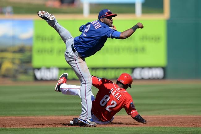 Texas Rangers vs. Cincinnati Reds - 6/22/16 MLB Pick, Odds, and Prediction