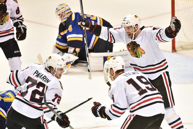 Chicago Blackhawks vs. St. Louis Blues - 4/7/16 NHL Pick, Odds, and Prediction