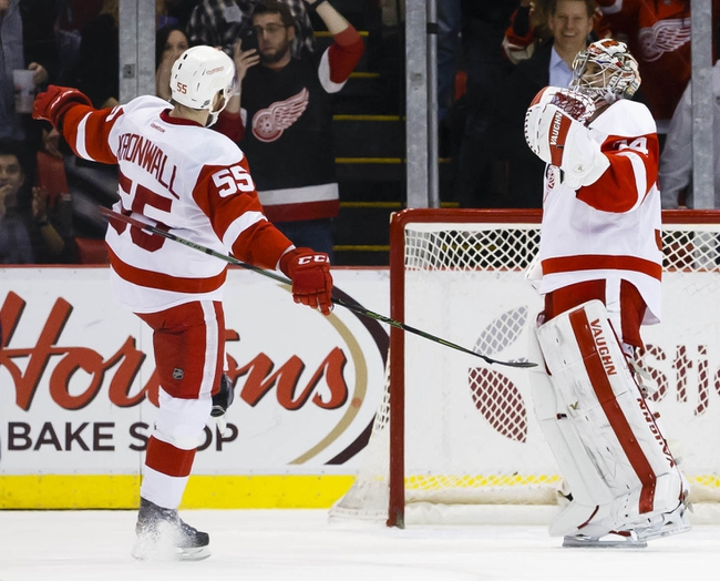 Detroit Red Wings vs. Winnipeg Jets - 11/4/16 NHL Pick, Odds, and Prediction