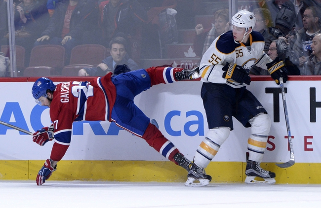 Buffalo Sabres vs. Montreal Canadiens - 3/16/16 NHL Pick, Odds, and Prediction